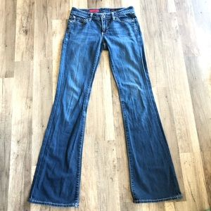 """Ag Adriano Goldschmied Jeans - AG•Adriano Goldshmied """"The Club"""" Flare Dark Jeans"""